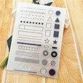 11*16 см Горячая продажа символ печать прозрачный штамп силиконовый валик для запечатывания штамп DIY альбом скрапбукинга/кард производство
