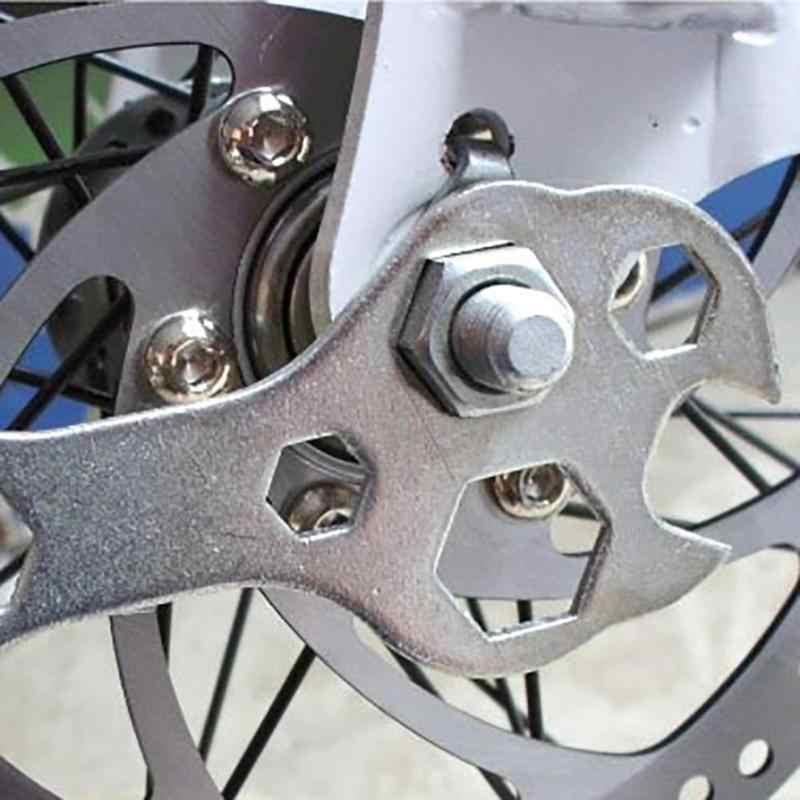 15 In 1 Praktis Multi Fungsi Sepeda Bersepeda Sepeda Flat Hexagon Wrench Set Steel Hexagon Spanner Tangan Alat Perbaikan Kit