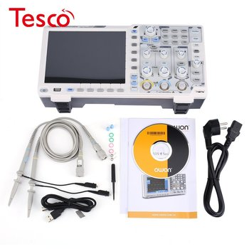 XDS2102A 2 Channels Deep Memory LCD Display Digital Storage Oscilloscope Scopemeter Scope Meter 100MHz 1GSa/s hantek 6022be laptop pc usb digital storage virtual oscilloscope 2 channels 20mhz handheld portable osciloscopio