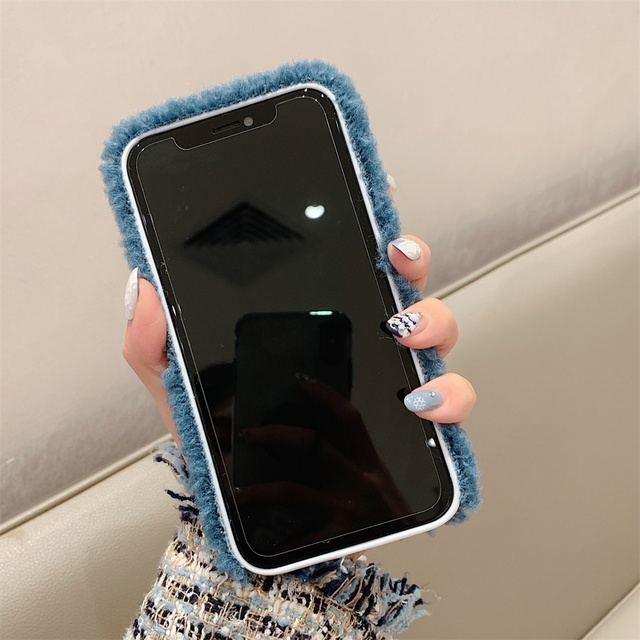 Plush Embroidery Phone Case For iPhone 11 11 Pro Max Tom Jerry Cat Mouse Back Cover For iPhone X XR XS MAX 6 6S 7 8 Plus Cases