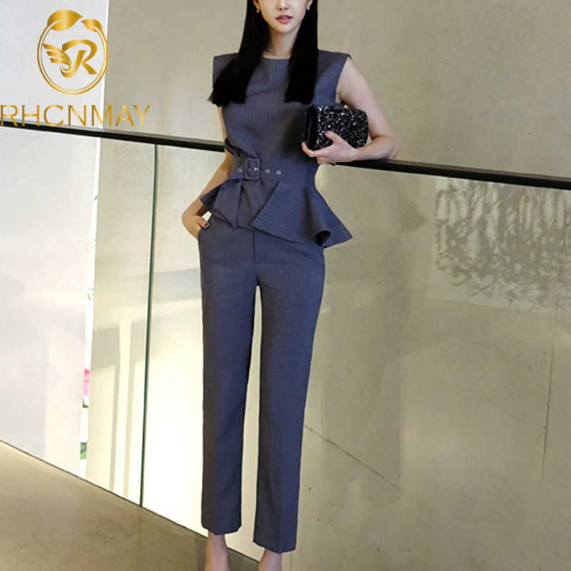 Fashion Designer Pants Suit Set Women S Elegant Solid Black Velvet Blazer Jacket And Wide Leg Pants Sets Catwalk Lady Suit Pant Suits Aliexpress