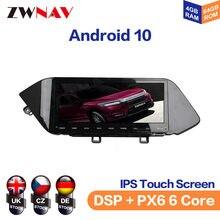 Autoradio Android 10.0, 4 go/128 go, Navigation GPS, lecteur multimédia, enregistreur, unité centrale, stéréo, pour voiture Hyundai Sonata 2020, Avante