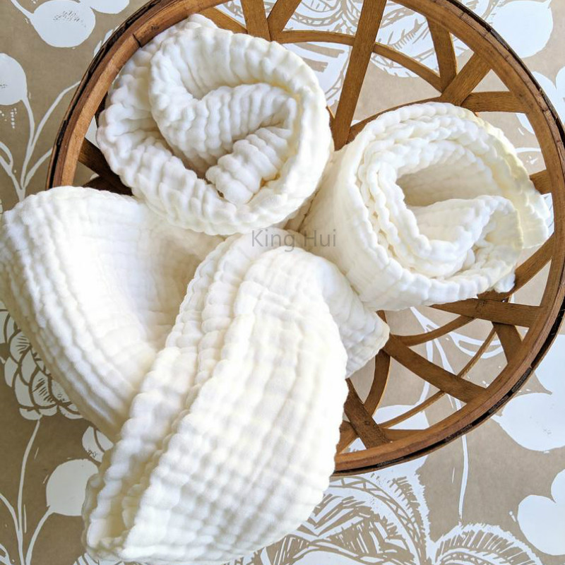Baby Blankets Newborn Manta Bebe Baby Blanket Winter Muslin Squares Bath Swaddle Cotton Baby Swaddles Wrapples 6 Layer