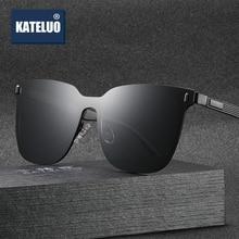 KATELUO 2020 الكلاسيكية المرأة المتضخم النظارات الشمسية الاستقطاب UV400 عدسة نظارات شمسية لل نظارات نسائية للقيادة 8033