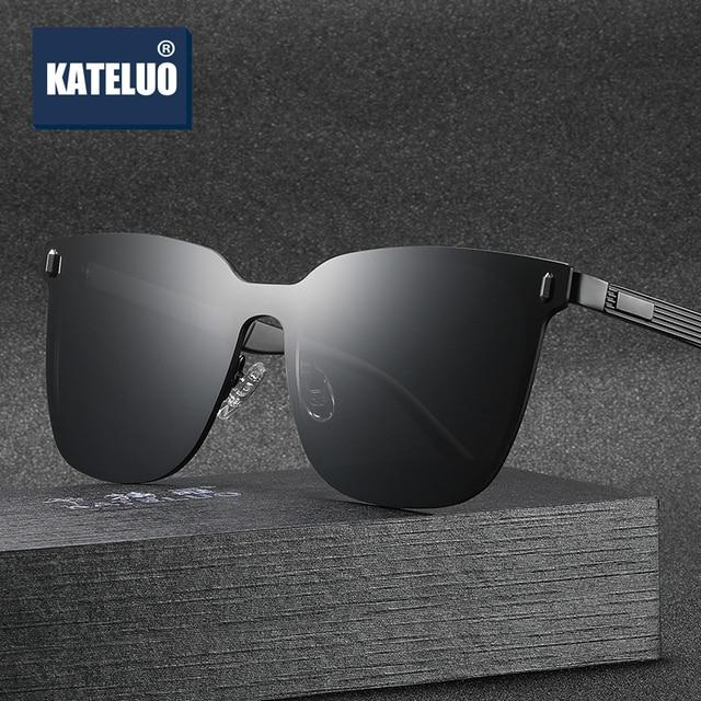 KATELUO 2020 klasyczne damskie ponadgabarytowe okulary spolaryzowane soczewki UV400 okulary dla kobiet okulary dla kierowców 8033