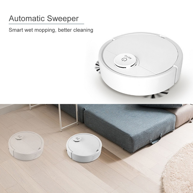 Floor Robots Cleaner Cleaner Multifunctional USB Car Cleaning Robots Cleaner Wet and Dry Robots Vacuum Cleaners,Home Appliances