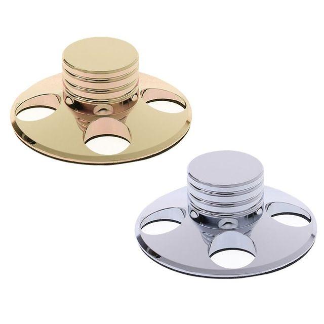 오디오 lp 비닐 턴테이블 금속 디스크 안정기 레코드 플레이어 무게 클램프 hifi