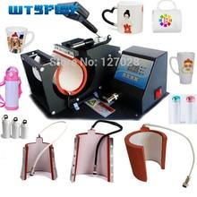 Wtsfwf Горячие 4in1 цифровой кружка сублимации печатная машина термокомпрессор для печатания на чашке Пресс принтер машина