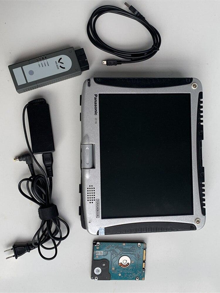 Herramienta de diagnóstico 6154 WIFI inalámbrico OKI ODIS V5.1.3, Chip completo 6154, con software CF19 touchbook instalado bien Nuevo adaptador Bluetooth V1.5 Elm327 Obd2 Elm 327 V 1,5, escáner de diagnóstico para automóvil para Android Elm-327 Obd 2 ii, herramienta de diagnóstico para coche