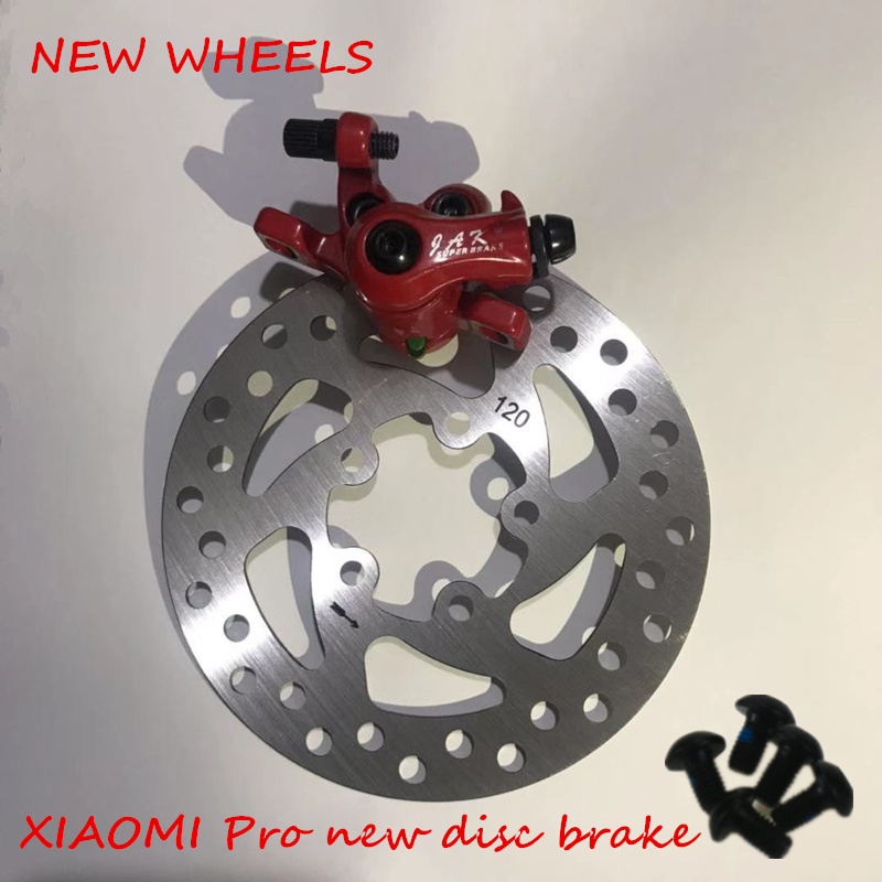 XIAOMI Pro electric scooter parts new style disc brake 120mm brake disc Customized Lining disc brake pads