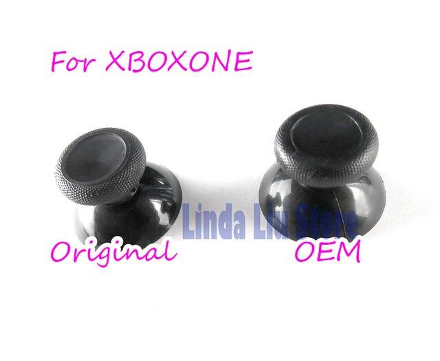 60pcs original OEM Black Analogue Stick Controller Joystick Cap Mushroom Head Rocker Grip Cover for xbox one controller
