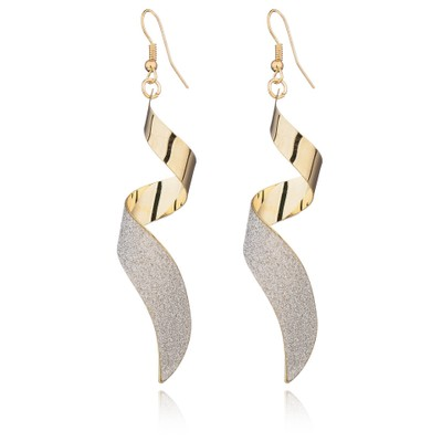 Women's Earrings Personal Gold Silver Colour for Women Party Gift 1
