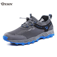 Summer Breathable Men's Mesh Shoes Couple Casual Sh