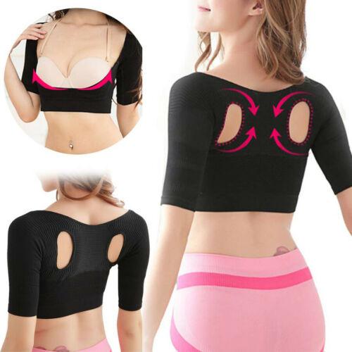 Women Arm Shaper Back Shoulder Corrector Humpback Posture Corrector Arm Control Shapewear Arm Fat Burner Slimming Underwear