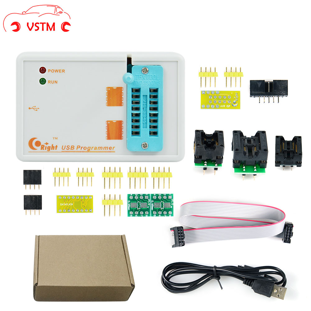 New Arrival 100% Original Programmer SKYPRO USB High Speed SPI Programmer With 3 Adapters Support Win7 Win 8