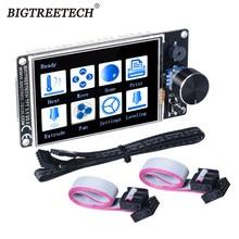 Bigtreetech tft35 v3.0 tela de toque, tft3.5 polegadas com wifi 12864 tela lcd painel de modo mks tft35 para skr v1.3 pro placa dos pedidos