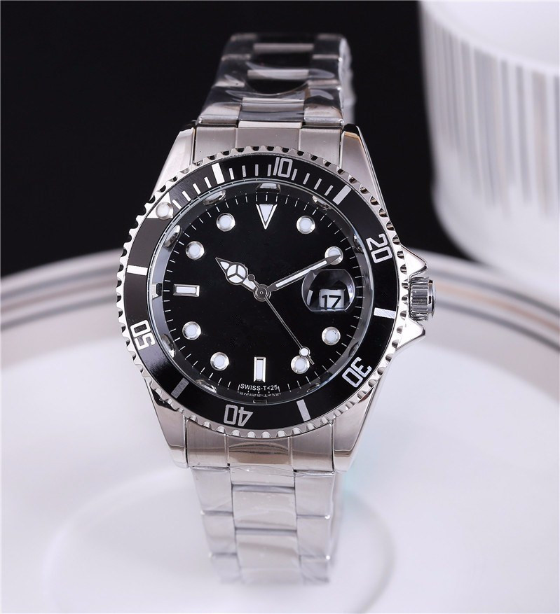 Men New Luxury golden genuine watches waterproof automatic watches do not embroidered steel double calendar business casual