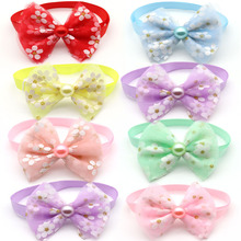 30/50 Pcs Pets Puppy Accessories Fashion Spring Dogs Puppy Bow Ties Necktie Small Dog Accessories Bowties Pet Supplies Luxury