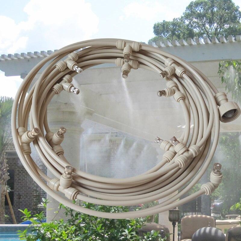 Садовая водопроводная труба, система для охлаждения и полива тумана, шланг для теплиц, патио