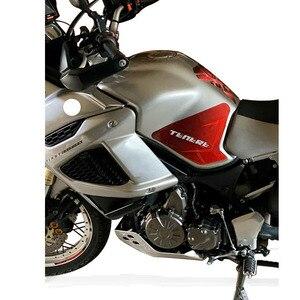 Image 5 - Caja lateral de tanque de combustible para motocicleta YAMAHA, pegatina de protección, pegatinas antiaricción para Super Tenere XT1200Z XT 1200Z