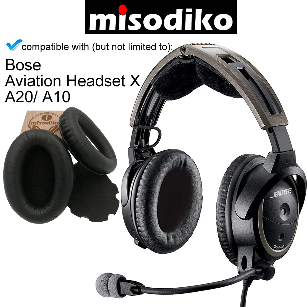 Bose Replacement Ear Cushions for Aviation Headset X