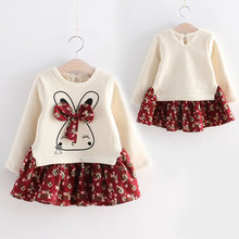 Girl baby dress new girl baby autumn and