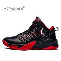 Arsmundi Fashion Basketball Heren Basketbal Cultuur Sportschoenen Hoge Kwaliteit Sneakers Schoenen Voor Mannen 2019 Winter