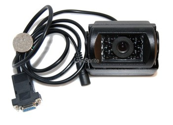 Free shipping for Original imported Arduino open source waterproof RS232 serial camera module