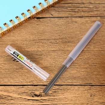 Wholesale HB/2B/2H Lead Refills Tube 0.5mm/0.7mm with Case for Mechanical Pencil DXAB image