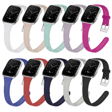 Silicone Watchband For Fitbit Versa Wrist Smart Watch Strap For Fitbit Versa Band Wriststrap Replacement Accessories Bracelet watchband for fitbit versa strap genuine leather wrist smart watch band for fitbit versa band bracelet accosseries