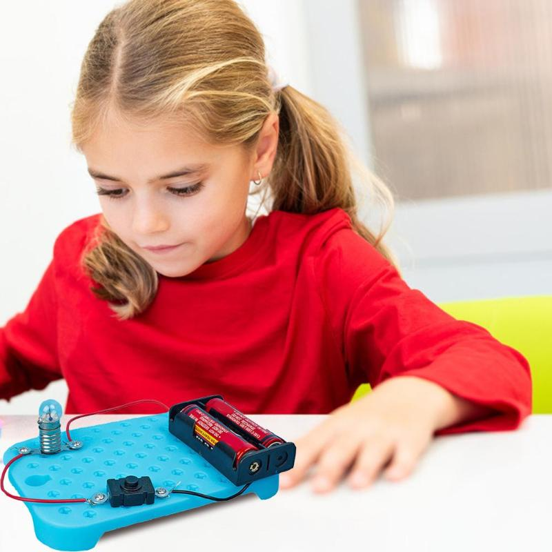 DIY Electric Circuit Kit Physical Science Experiments Children Educational Toys Cultivate Hands-on And Thinking Skills