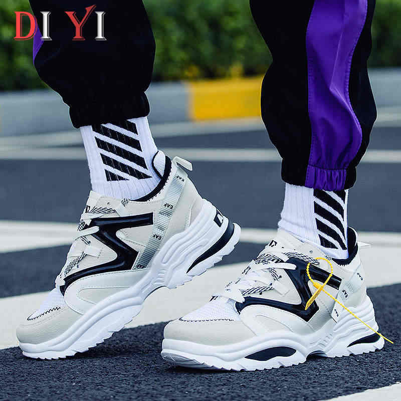 Mens Shoes On Sport Gym Shoes Sports Running Sneakers Trainers Comfy YI