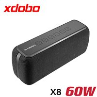 XDOBO X8 60W altoparlanti bluetooth subwoofer Portatile senza fili IPX5 Impermeabile TWS 15H giocare Assistente Vocale Extra bass system
