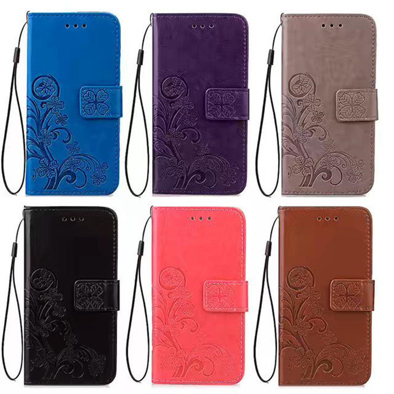 Wallet Leather Case On for <font><b>Alcatel</b></font> One Touch Scribe Easy 8000A 8000D Scribe HD 8008D 8008X Star <font><b>6010</b></font> 6010D T'Pop 4010D Cover image