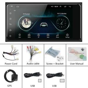 Image 5 - Podofo 2 din Android 8,1 радио GPS автомобильный мультимедийный плеер 2Din универсальный для Toyota VIOS CROWN CAMRY HIACE PREVIA COROLLA RAV4