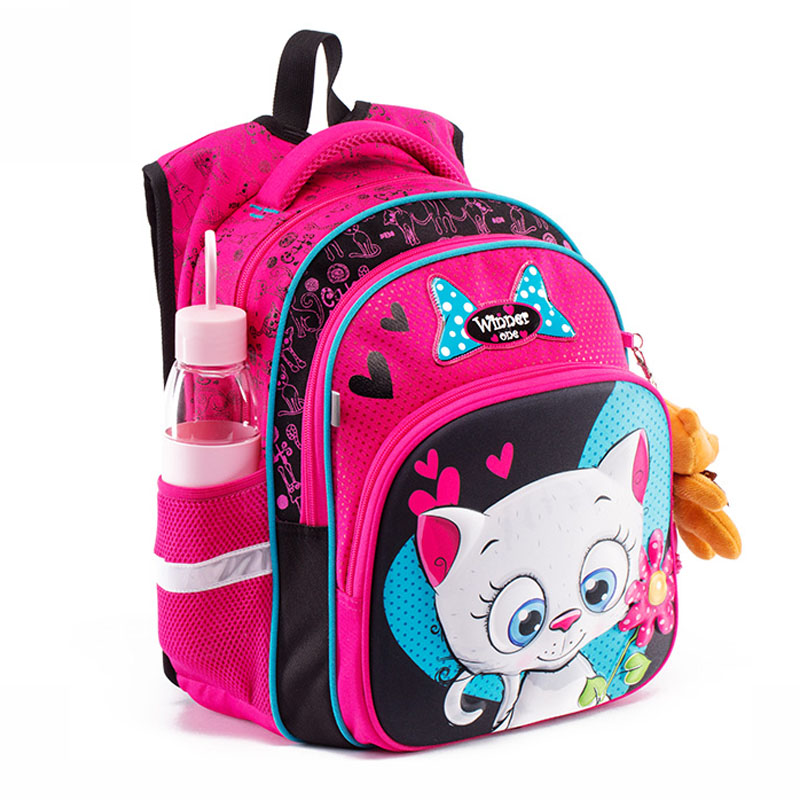 Winner One Orthopedic School Bags For Girls Cartoon Children School Bag Kids Satchels Girl Knapsack Top-Quality Book Bags