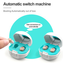 2021 New best Mini Ear Hearing Aids Apparatus In Ear Invisible Hearing Aid Assistant Adjustable Sound Amplifier For Deaf Elderly