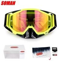 Original SOMAN Gafas Motocross lunettes lunettes MX hors route saleté vélo casques lunettes Ski Sport lunettes Masque Moto lunettes|Lunettes|   -