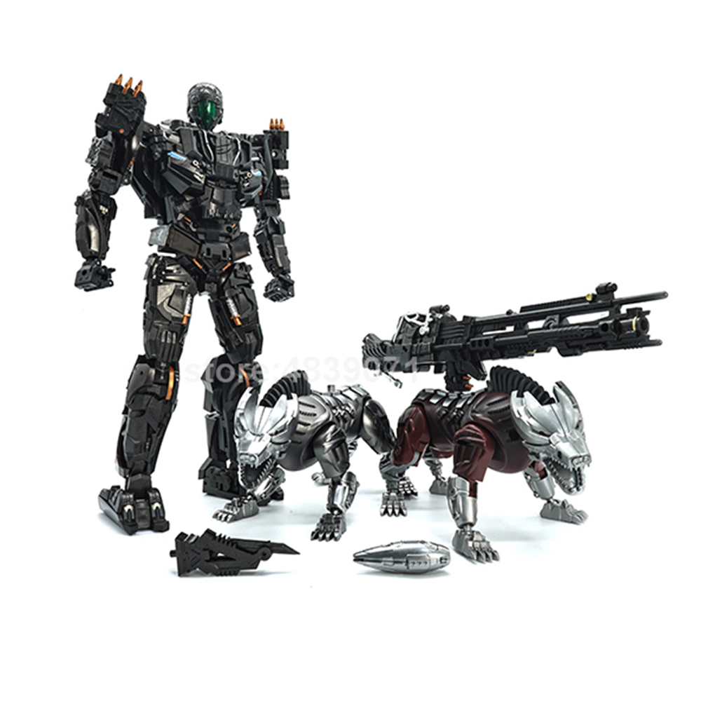 Image 2 - VT Action Figure Toys VT 01 VT01 Metal MP Bounty Hunter UT Confinement Two Hunting Dogs Sports Car Deformation TransformationAction & Toy Figures   -