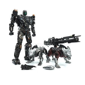 Image 2 - VT Action Figure Toys VT 01 VT01 Metal MP Bounty Hunter UT Confinement Two Hunting Dogs Sports Car Deformation Transformation