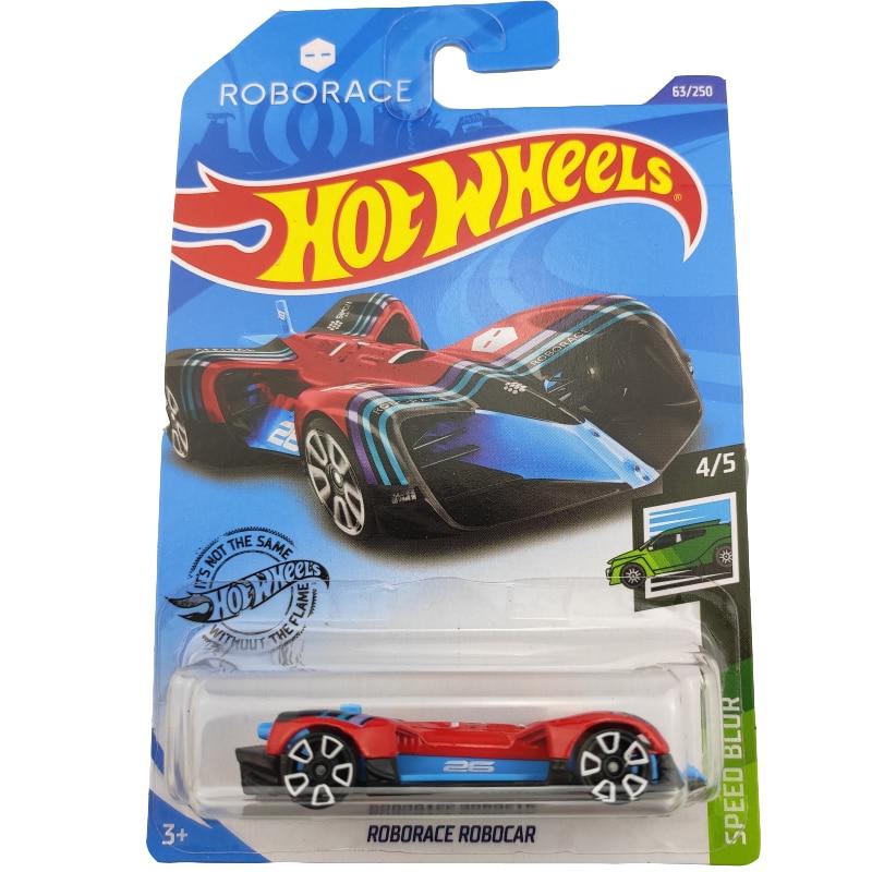 2020-63 Hot Wheels 1:64 Car ROBORACE ROBOCAR Metal Diecast Model Car Kids Toys Gift