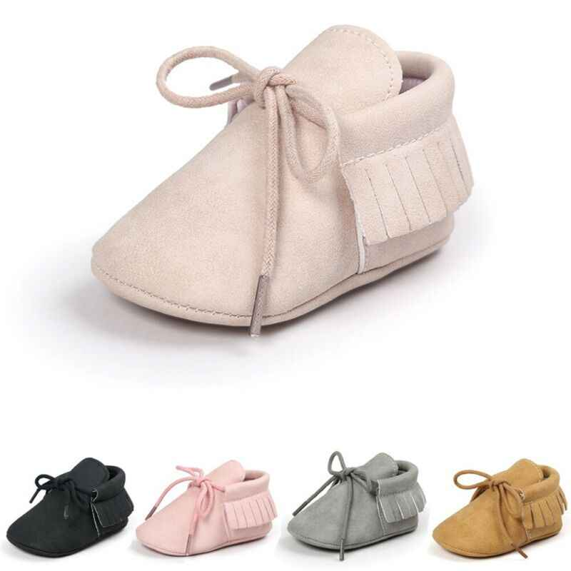 Baby Casual Shoes Fashion Baby Tassel Soft Sole Suede Shoes Infant Toddler Newborn Boy Girl Moccasin Shoes