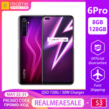 realme 6 Pro Global Version Mobile Phone 8GB RAM 128GB ROM 6