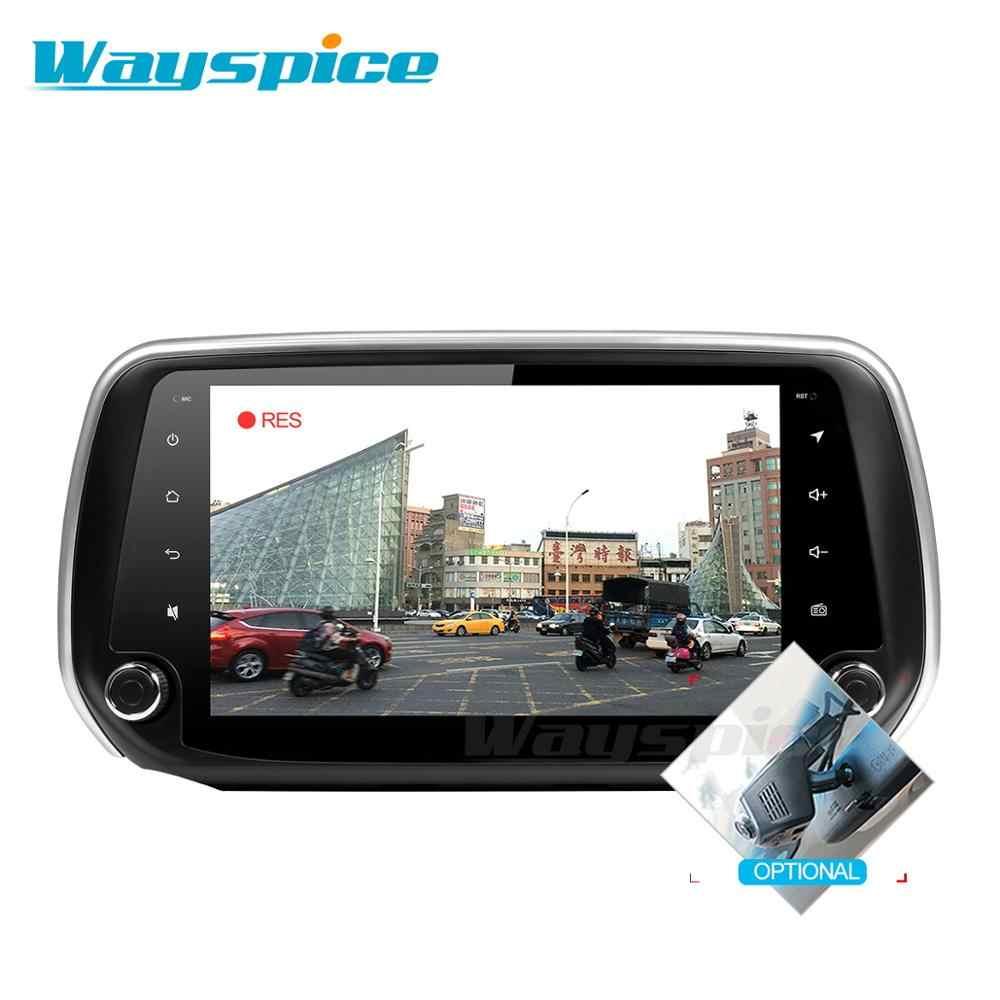 CXSDF9081 android 9.0 auto dvd voor hyundai Santa Fe 2018 2019 auto dvd gps navigatie raido video speler 1
