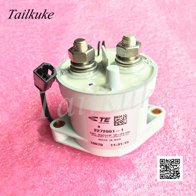New Energy Vehicle Relay EVC500 2272991-1 High Current Relay 1000A Can Withstand DC High Voltage 320VDC NO Type