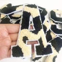26 Английский алфавит полотенце вышитые патчи для одежды Бесплатная