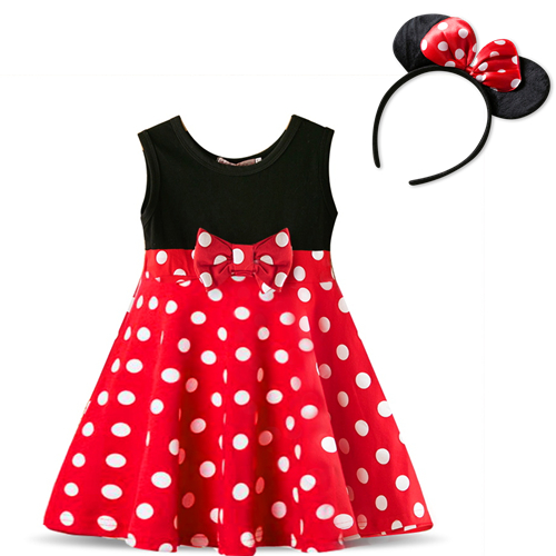 Ha543d7780f10463da9440322814897f0n Fancy Kids Dresses for Girls Birthday Easter Cosplay Minnie Mouse Dress Up Kid Costume Baby Girls Clothing For Kids 2 6T Wear