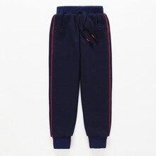 Children Trousers Tracksuit Pencil-Pants Warm Girls Boys Winter Kids Cotton Casual Thick