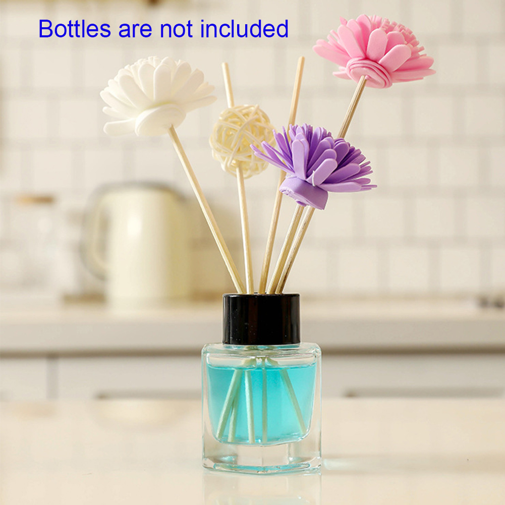Aroma Diffuser Home Decor Bedroom Deodorization Fragrances Reed Essential Oil Gifts Refill Replacement Scent Rattan Sticks Set