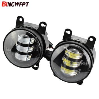 1 Pair LED Fog Light Lamp Front Bumper Light For Subaru XV 2013-2014 For Subaru Outback 2010 2011 2012 For Subaru WRX STI 15-16 фото